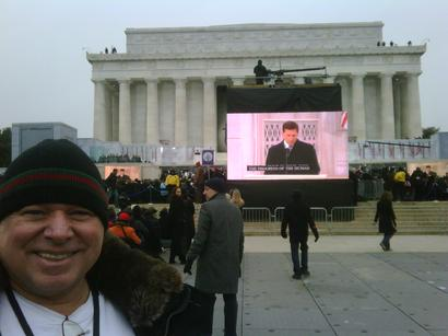 Barack Obama speech at Lincoln Memorial